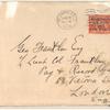 1919 transatlantic flight, Newfoundland to Ireland cover