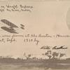 1910 Boston-Harvard Aero meet postcard