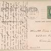 1909 Wright aeroplane 10-mile speed test postcard