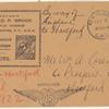 1922 New York to Hartford, Conneticut flight cover