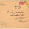 1923 cover New York to San Diego cover