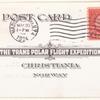 1924 Amundsen Trans-Polar Flight Expedition postcard