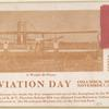 1910 first commercial use of an airplane postcard