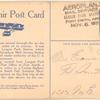 1911 Fort Smith, Arkansas - Fort Smith fall aviation meet postcard