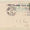 1912 Wilmington, North Carolina - Highwood Park exhibition flights postcard