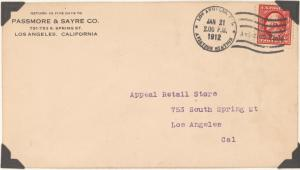 1912 Los Angeles, California - Dominguez Field aviation meet cover