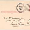 1912 Los Angeles, California, Dominguez Field aviation meet postal card