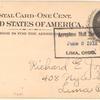1912 Lima Driving Park aviation meet postal card
