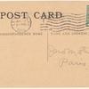 1912 Lexington, Ky. race track aviation meet post card