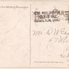 1912 Hamilton, Ohio - Butler County fair aviation meet post card