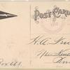 1912 Hohokus - Ridgewood, N. J. - Hohokus race track aviation meet post card