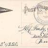 1912 Fort Recovery, Ohio harvest festival aviation exhibition post card