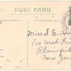 1912 Plainfield, N. J. driving park aviation exhibition post card