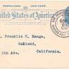 1912 San Francisco, California, Ingleside Park Aviation Meet postal card