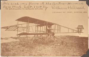 1910 Boston-Harvard Aero meet postcard