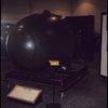 "Sandia Atomic Museum. Albuquerque, New Mexico. March 16, 1973. ""Fat Man,"" second atomic bomb dropped on Nagasaki"