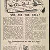 The class mark, Vol. 1, no. 1, [Front page]