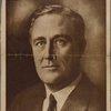 The president-elect: Franklin Delano Roosevelt