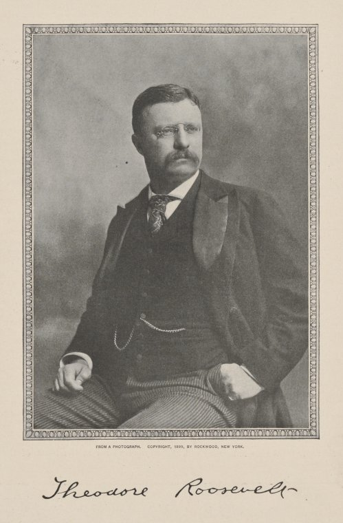 Theodore Roosevelt / from a photograph.