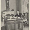 Theodore Roosevelt in his Mulberry Street office, when he was police commissioner of New York