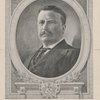 Sidney L. Smith's etched portrait of President Roosevelt.