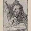 Etchings by Anders Zorn. Theodore Roosevelt