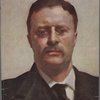 [Detail of head of Theodore Roosevelt from the portrait by John Singer Sargent.]