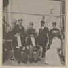 A notable group on board presidental yacht Mayflower last Monday.