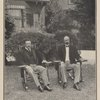 President Roosevelt and Senator Fairbanks. (At the president's home, Sagamore Hill, Oyster Bay, New York, July 11, 1904)