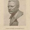 Theodore Roosevelt bust in bronze by Gleb Derujinsky.
