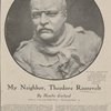 Colonel Theodore Roosevelt a photograph made of the bust made for the Senate gallery by James E. Fraser.