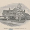 An old homstead at Locust Valley ; President Roosevelt's residence at Oyster Bay.