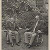 President Roosevelt and Senator Fairbanks at the president's summer home