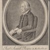 Rev'd Samuel Rogers A.M. an. at. 50 Rectr. of Husbands Bosworth & of Brompton in the county of Northampton & chaplain to the Right Honble. John Earl Spencer.