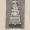 Monument of the late Mr. Romaine, in St. Ann's Church, Blackfirars.