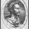 Pierre de Ronsard, Prince des Poëts Francois, mort l'an 1585.