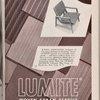 Lumite woven saran fabrics advertisement