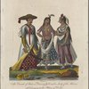 An omrah of state; a dancing girl; and a lady of the harem; all belonging to the Palace of Delhi