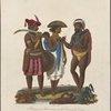 1. Aborigines of Hindoostan on the Coromandel coast. 2. A Piadah or Peon, retained in great families