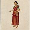 Brahmin butler's wife.