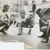 The Police Athletic League (PAL) sponsoring street games for Harlem youth, July 5, 1949