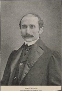 Edmond Rostand. (From a photograph by Nadar, Paris.)