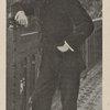 M. Rostand a la terrasse de L'Etchegorria.