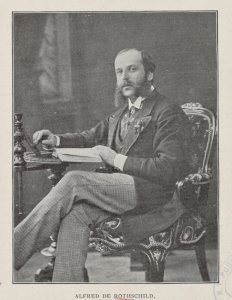 Alfred de Rothschild, one of the British delegates to the Silver Conference.
