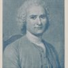 "Jean Jacques Rousseau, illustration reduced from the color plate in ""The French pastellists."""