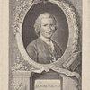 JJ Rousseau [inscribed in print:] Vitam 1m pendere vero. Il est trouvé.