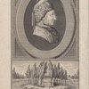 [Jean-Jacques Rousseau.] Entre ces Peupliers paisibles, Repose Jean Jacques Rousseau; Approchez cœurs droits et sensibles, Votre ami dort sou ce tombeau.