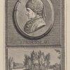 J.J. Rousseau. Tombeau de J.J. Rousseau à Ermenonville. où il a été déposé le 4 Juillet 1778, agé de 66 ans.
