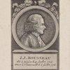 J.J Rouseau né à Genève le 4 Juillet 1712, mort a Ermenoville 2 Jullet 1778.