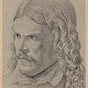 Friedrich Rückert. Zeichnung von Schnorr v. Carolsfeld.